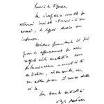 Lettera del presidente della Repubblica